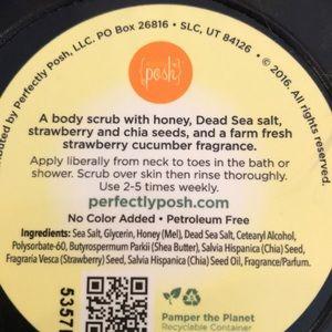 Posh Makeup - Posh cuca chia berry body scrub